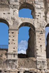 rome coliseum restoring
