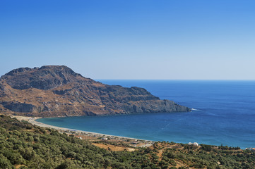 Bucht von Plakias auf Kreta