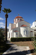 canvas print picture - Kirche in Elounda, Kreta