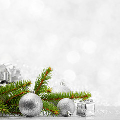 Firtree and christmas decor