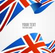 Vector Flag of UK. Border - 73415877