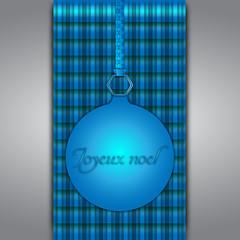Fêtez noël en bleu