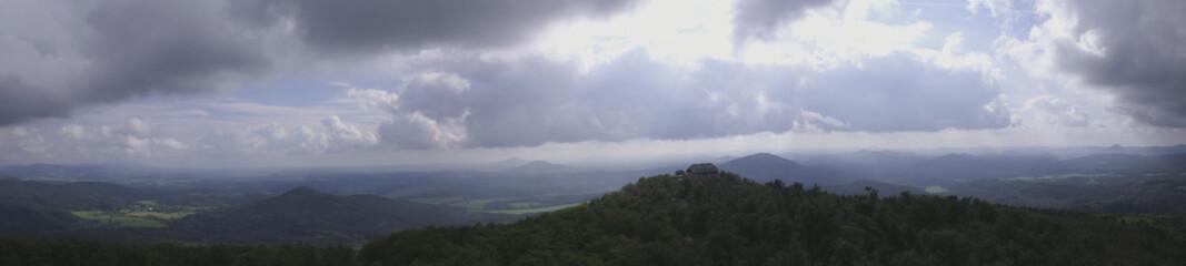 Panorama Hvozd - Lusatian Mountains