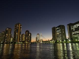 東京ウォーターフロントの夜
