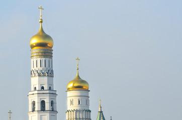 Московский кремль, фрагмент колокольни Ивана Великого