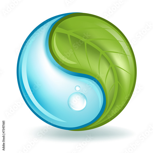 Nature Elements Yin Yang - 73417661