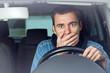 Autounfall - Fahrer unter Schock