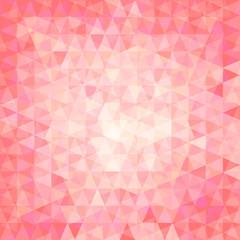 pink triangular background