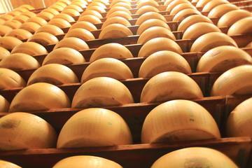 formaggio forme stagionatura