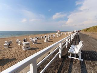 Strandpromenade auf Sylt