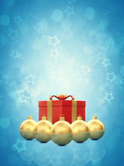 Christmas card decoration background , copy space