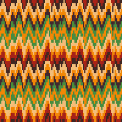 Seamless pattern in Christmas colors.