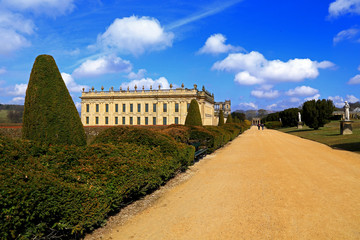 Chatsworth in Springtime