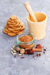 gingerbread spices