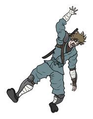 Fall out ninja