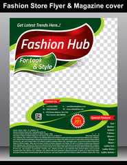 Fashion Store Flyer & Magazine Cover