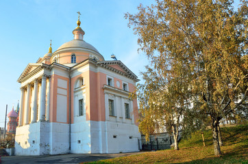 Церковь великомученицы Варвары. Улица Варварка. Москва