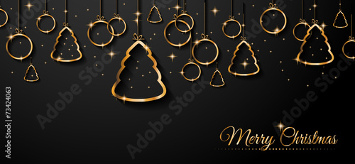2015 New Year and Happy Christmas background - 73424063