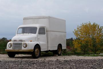 old-timer truck
