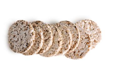 Stack of grain crispbreads