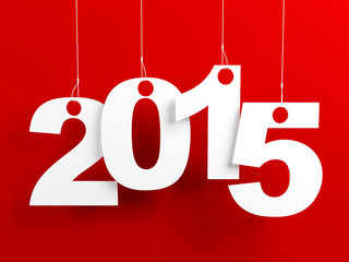 New Year 2015 Red