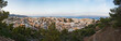 Obrazy na płótnie, fototapety, zdjęcia, fotoobrazy drukowane : Evening panorama from top of Agios Nikolaos