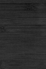 Black painted bamboo wood texture