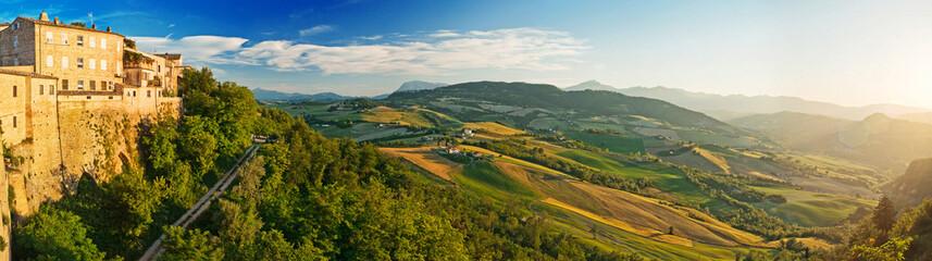 Panorama of the Tuscany, Italy
