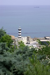 Ortona docks lighthouse - Italian Abruzzo coast