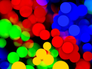 Fun and festive bokeh