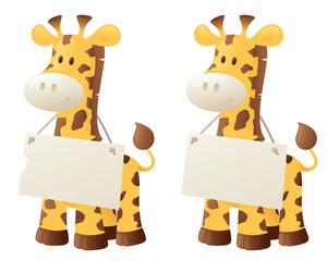 Giraffe Says