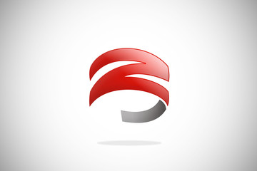 letter Z business technology abstract logo