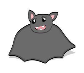 Funny Bat Drawing