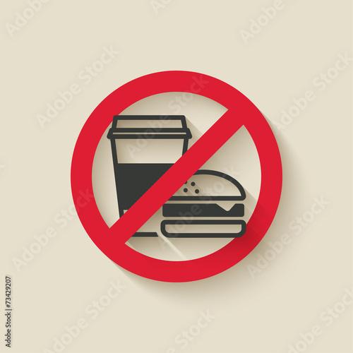 fast food no sign - 73429207