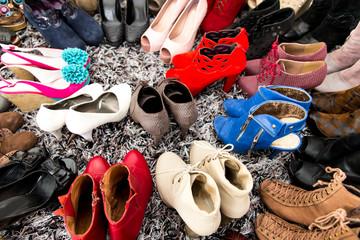 Damenschuhe Sammlung