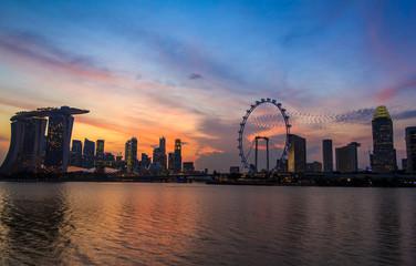 Singapore Twilight City
