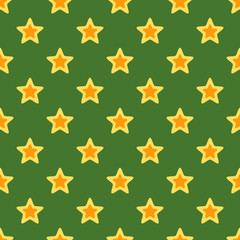 Retro Christmas Texture with Stars
