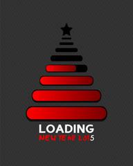 2015 christmas tree loading bar