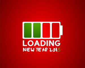 2015 new year loading