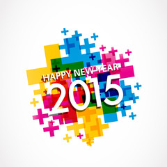 2015 New Year Happy Christmas