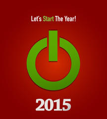 2015 start button concept