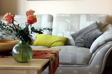 Dekoration, Sofa, Tisch, Einrichtung, Blume, Rose