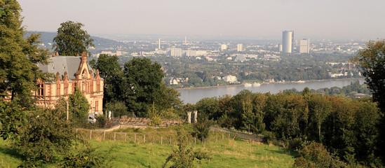 Blick ins Rheintal bei Königswinter