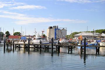Hafensteg Heiligenhafen Germany