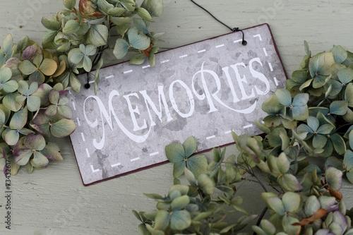 Foto op Plexiglas Hydrangea Memories