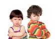 Two angry kids
