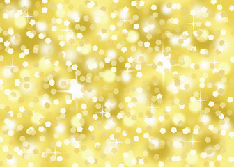 gold confetti glitter holiday festive abstract background