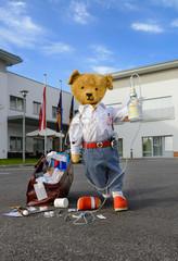 Teddyarzt im Stresseinsatz