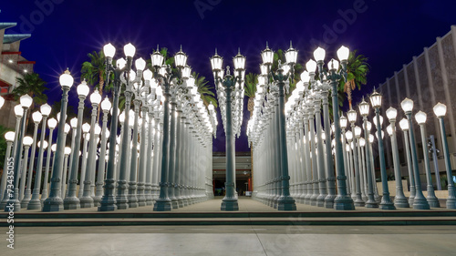 Urban light, Los Angeles