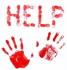 fingerprints and hands help